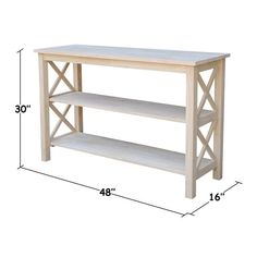 Shop The Gray Barn Moonshine Unfinished Console Table - On Sale - Overstock - 19856386 Furniture, Farmhouse Sofa Table, Wood Sofa Table, Table, Console Table, Diy Sofa Table, Home Furniture, Diy Entryway Table, Furniture Decor