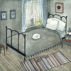 Yelena Bryksenkova. Bedroom.