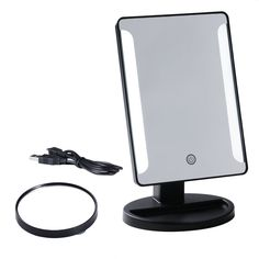 Portable Vanity Mirror With Lights Custom Makeup Mirror Preup Portable Vanity Mirror Lighted Travel Mirror Design Inspiration