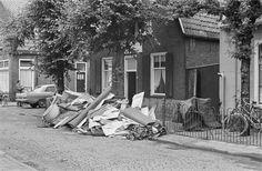 HILVERSUM-HEVIGE REGENVAL-OVERLAST 20 juli 1966