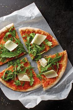 Ein typisch italienischer Genuss mit Parmesan.