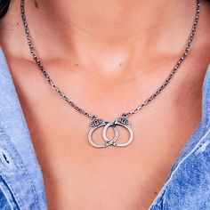 Show off a little bit of your naughty side with this provocative necklace.
