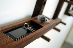Functional And Versatile Hallway Coat Rack | DigsDigs