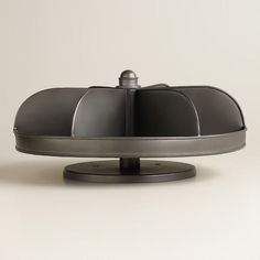 Hardware Bin Lazy Susan, $35 at World Market....ooohh, I totally need this for my desk!
