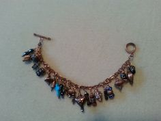 Genuine copper charm bracelet.  Dressed up and ready to go! All charms are custom.