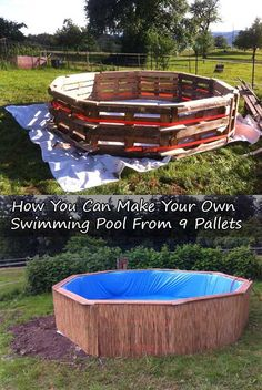 1000 images about summer fun for everyone on pinterest - How to make a swimming pool slide ...