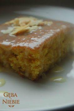 Gęba w niebie: Ciasto pomarańczowe z mlekiem kokosowym