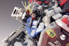 PG 1/60 Aile Strike Gundam 30th Anniversary Color Clear Ver. - Painted Build     Modeled by RedBrick