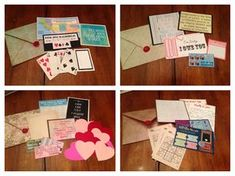 I Solemnly Swear That I Am Up To No Good: Open When... Letters Pre-made Kit with list of contents