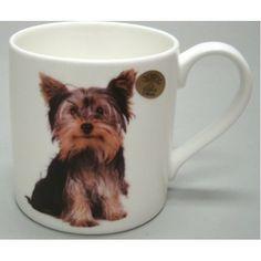 Prachtige mok van een Yorkshire terrier zit verpakt in een mooie geschenkdoos van Leonardo.  Een pracht cadeau voor de liefhebber.   Materiaal: fine china  Deze mok kan in de vaatwasser.
