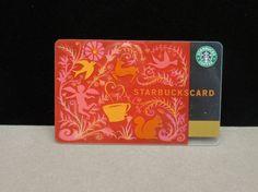Starbucks Card called the renaissance card, it is rare, ltd. Ed.  X