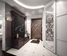 Мягкая плитка: Существует масса различных способов отделки стен в квартире. Одним из самых богатых в плане дизайнерских изысков и решений можно назвать вариант отделки мягкими панелями Мягкие стеновые панели (далее - панели) ещё называют 3D панелями из-за их объёмной структуры Flur Design, Hall Design, Room Interior Design, Interior Exterior, Hallway Decorating, Entryway Decor, Home Renovation, Home Remodeling, Entry Furniture