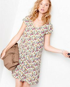 Charming Knit Dress By Garnet Hill With Cut Out Back Summer Mostly Fashion Pinterest And