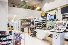 Fanouraki Aikaterini Pharmacy by Artico, Rhodes – Greece » Retail Design Blog