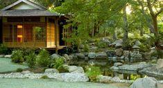 jardin japonais extravagant pierres