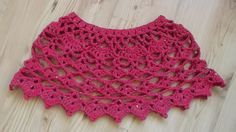 free crochet cape