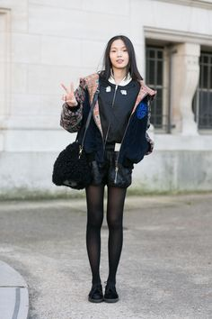 peace. #XiaoWenJu #offduty in Paris.