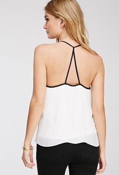 Accordion-Pleated Cami | FOREVER21 - 2000081367