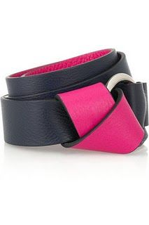 Loving this double faced belt...Coloredfor the day, neutral if you have to dress up! Jil Sander, €190 from Net-a-Porter