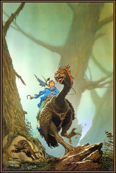 """""""For Love of Mother Not"""" by Michael Whelan"""