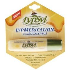 I'm learning all about Lypsyl Lypmedication Eucalyptus Tottle at @Influenster!