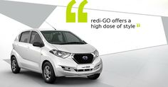 redi-GO offers a high dose of style. Visit us : http://www.shaktinissan.com/ #Activa #ReadyGO #Datson #DatsonCar #Sunny #Nissan