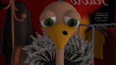 Amedeo è uno struzzo che ama suonare e cantare. Il suo sogno? Diventare una star! Avere successo! Ma è molto insicuro, si vede troppo brutto con quel neo sul becco! Pensa che tutti possano ridere di lui. Un bel giorno, però …
