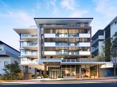 Felicity on Felix Apartment Building at Lutwyche - e-architect Brisbanes inner north is about to welcome a new $18 million architecturally-designed residential development with construction well underway on Felicity on Felix a five-storey 36-apartment building at Lutwyche. via Pocket IFTTT  Pocket  facade  housing November 08 2016 at 09:53PM