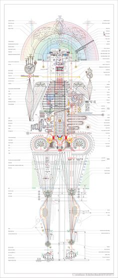 1 | What Would Your Portrait Look Like, As A Blueprint? | Co.Design: business + innovation + design
