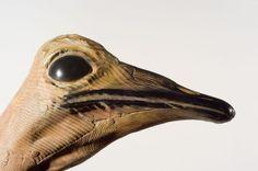 Artist Quentin Garel  #sculpture #wood #animal #bird