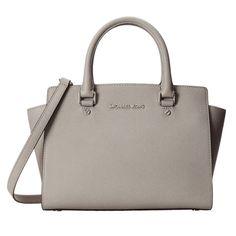 New MICHAEL Michael Kors Selma Medium Top Zip Satchel - Pearl Grey - 30T3SLMS2L-081 online. Find great deals on Salvatore Ferragamo Handbags from top store. Sku yytv38448qqkg24801