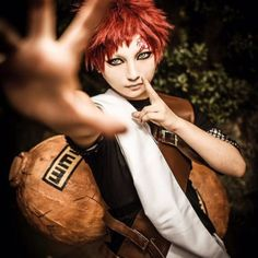 Gaara from Naruto #anime #cosplay