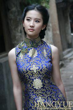 """Liu Yifei is a Chinese Actress, Model, & Singer born in Wuhan, Hubei, China - """"Lushui Hongyan"""". (b. 26-AUG-1987-)."""