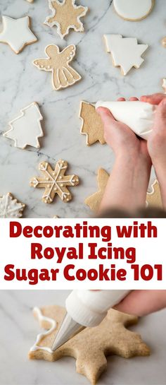 Welcome to cookie decorating 101!