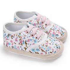 f96745804216 Raise Young Canvas Spring Summer Baby Girl First Walkers Cotton Soft Soles  Toddler Girl Crib Shoes Newborn Infant Sneakers 0-18M