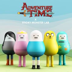 Adventure Time Figures by Sticky Monster Lab !!!