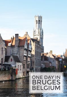 With its charming cobblestone streets and vibrantly colored homes, you can't help but fall in love with the beautiful city of Bruges, Belgium. Explore cafes, breweries and medieval buildings, and later, relax with a crisp Stella Artois.