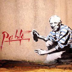 Picasso Street Art by Señor X #art