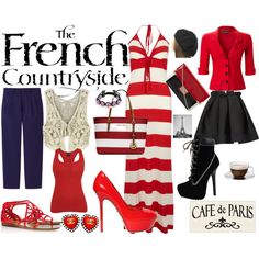 """""""De French Country Side"""" by carolwatergirl on Polyvore"""