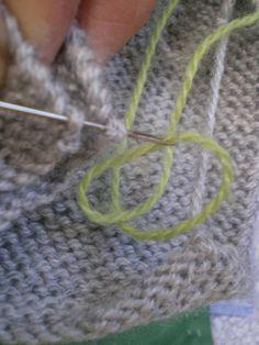 Easy Knitting - Nahaufnahmen an Nähten , Easy Knitting, Knitting Stitches, Knitting Patterns Free, Knitting Yarn, Knitted Heart, Knitted Baby Blankets, Fancy, Diy Crochet, Tips