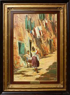 Cosimo Privato - mattino a Venezia - 1961 Cosimo Privato - morning in Venice - 1961 Cosimo Privato - утро в Венеции