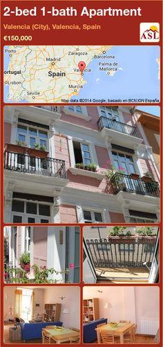 2 Bed 1 Bath Apartment In Valencia (City), Valencia, Spain