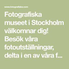 Fotografiska museet i Stockholm välkomnar dig! Besök våra fotoutställningar, delta i en av våra fotokurser, arrangera en konferens eller gör ett minnesvärt besök i vår fina och prisbelönta restaurang. Fotografiska är en internationell mötesplats om och för fotografi i fantastiska lokaler på Södermalm i Stockholm. Stockholm, Sweden, Math Equations, Places, Lugares