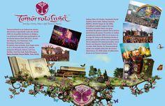 Infograma de el evento Tomorrowland realizado en illustator