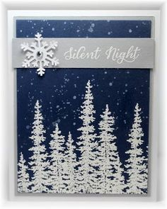 Scrappin' and Stampin' in GJ: Search results for white embossed trees