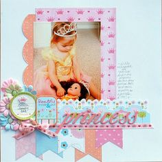 #papercraft #scrapbooking #layout    Imaginisce - Enchanted collection