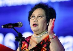 "Share or Comment on: ""PHILIPPINES: Miriam Defensor Santiago Vows To Tackle Corruption"" - http://www.politicoscope.com/wp-content/uploads/2016/02/Philippines-Headline-News-Miriam-Defensor-Santiago.jpg - Miriam Defensor Santiago: ""Once I become the President, all the people who stole the people's money shall be sent promptly to brand-new jails,""  on Politicoscope: Politics - http://www.politicoscope.com/philippines-miriam-defensor-santiago-vows-to-tackle-corruption/."