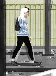 Walk this way, Eleni Kalorkoti