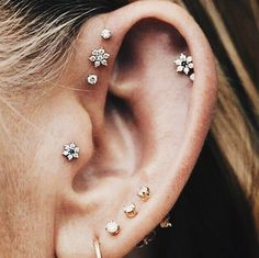 Obsessing over ear piercings right now #ivyrevel #revelista
