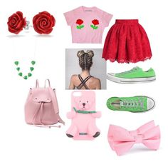 """""""Darling,Never Grow Up 🎠🎪"""" by theperfectstorm ❤ liked on Polyvore featuring Converse, Bling Jewelry and Moschino"""
